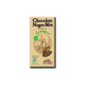 chocolate negro 86% cacao chocolate sole